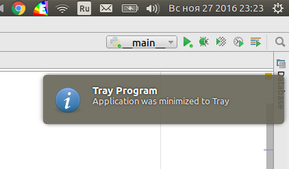 PyQt5 - Lesson 003  QSystemTrayIcon - How to minimize application to