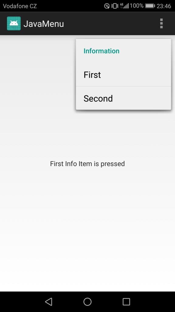 Android  Java vs Qt QML - Tutorial 004  Creating a menu in